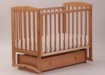 Детская кроватка Ромашка с универсальным маятником