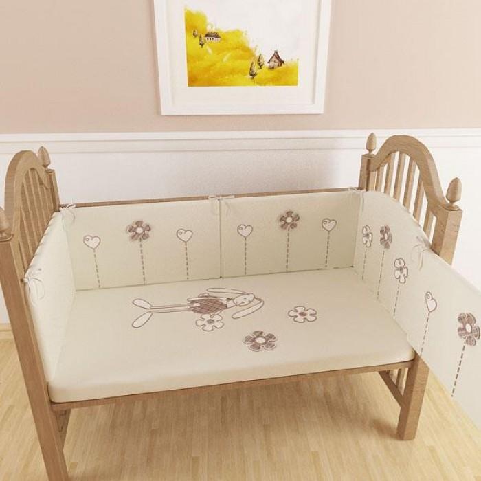 Комплект для кроватки Makkaroni Kids Bunny  (6 предметов)